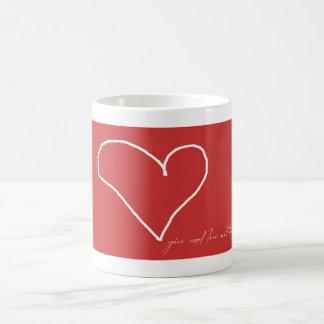 Give Love Coffee Mug