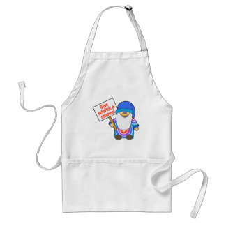 Give Lutefisk a Chance Adult Apron