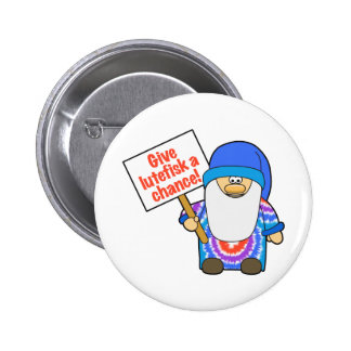 Give Lutefisk a Chance Pinback Button