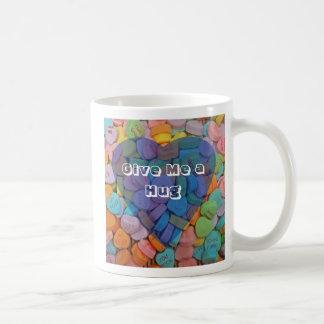 Give Me a Hug Classic White Coffee Mug