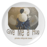Give Me A Hug Plates