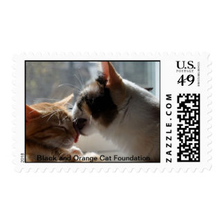 Give me a kiss. stamps