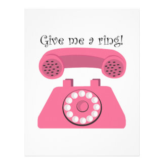 Give Me A Ring! Letterhead