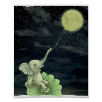 Give me a string, I will fly to the Moon! Print