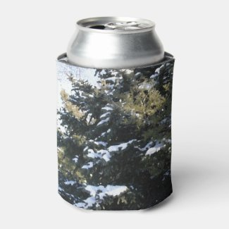 Give Me A Tree Full of Snow Can Cooler
