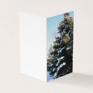 Give Me A Tree Full Of Snow Card