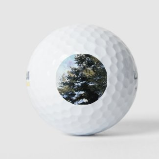 Give Me A Tree Full of Snow Golf Balls