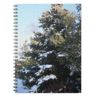 Give Me A Tree Full of Snow Notebook