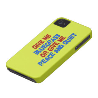 Give Me Bluegrass, or... Case-Mate iPhone 4 Case