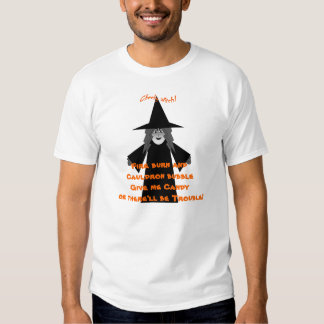 Give me Candy! Cheeky Witch T Shirt