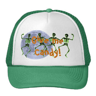 Give me Candy! Dancing Skeletons Hat