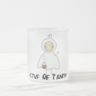 Give Me Candy Tshirts and Gifts Frosted Glass Coffee Mug