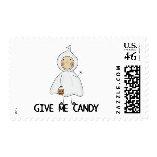 Give Me Candy Tshirts and Gifts Postage Stamps