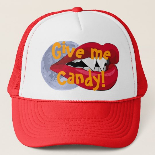Give me Candy! Vampire Mouth Hat