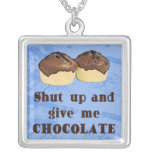 Give Me Chocolate Necklace