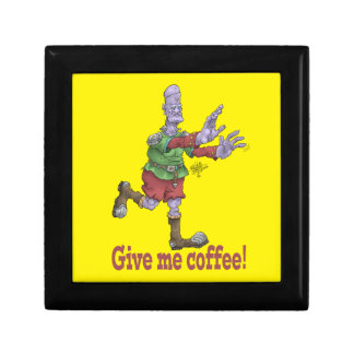 Give me coffee! Gift box. Keepsake Box