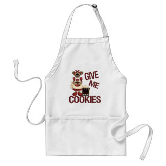 Give Me Cookies Adult Apron