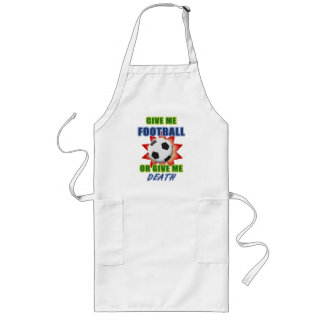 Give Me Football or Give Me Death Long Apron
