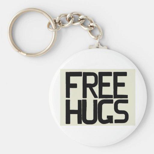 GIVE ME FREE HUGS KEYCHAIN