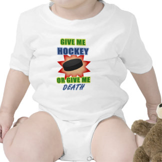 Give Me Hockey or Give Me Death Bodysuits