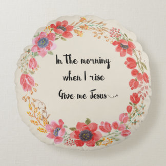 Give Me Jesus Hymn Quote Pillow