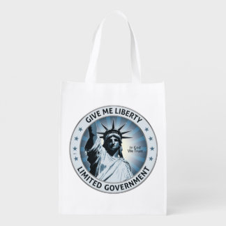 Give Me Liberty Grocery Bags
