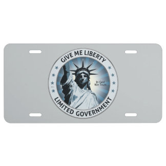 Give Me Liberty License Plate