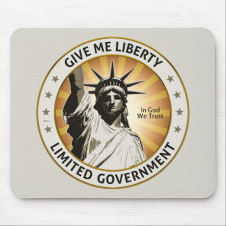 Give Me Liberty Mouse Pad