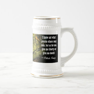 GIVE ME LIBERTY mug