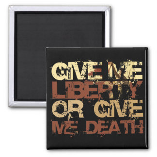 Give me Liberty or give me Death Magnet