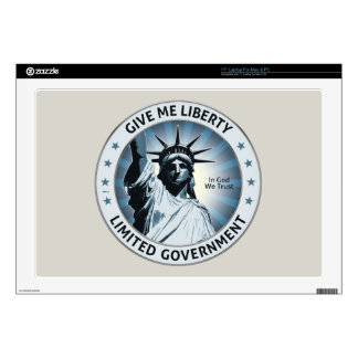 Give Me Liberty Skin For Laptop