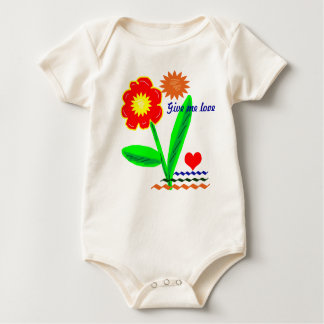 Give me love baby bodysuit