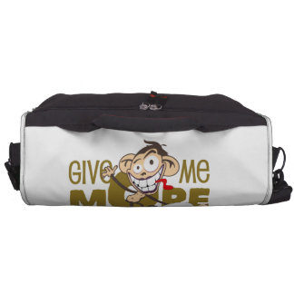 Give ME more coffee - and NO one GET hurt! Laptop Commuter Bag