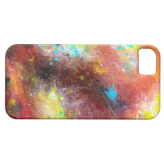 Give Me Some Space Abstract Art iPhone SE/5/5s Case