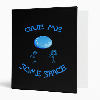 Give Me Some Space Frisbee 3 Ring Binder