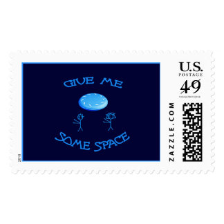 Give Me Some Space Frisbee Postage