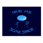 Give Me Some Space Frisbee Postcard
