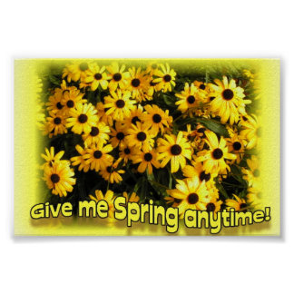 Give me Spring anytime! Poster