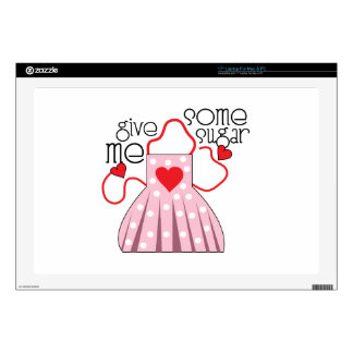 Give Me Sugar Decals For Laptops