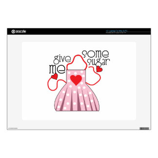 Give Me Sugar Laptop Decals