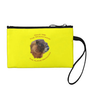 Give Me the Mountains...Marmot Change Purse