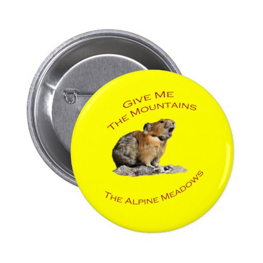 Give Me The Mountains...Pika Button