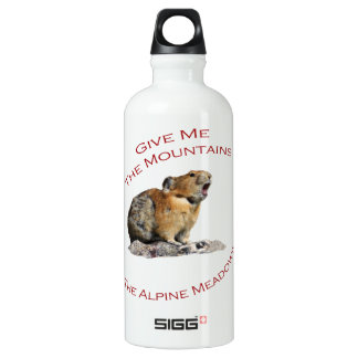 Give Me The Mountains...Pika SIGG Traveler 0.6L Water Bottle