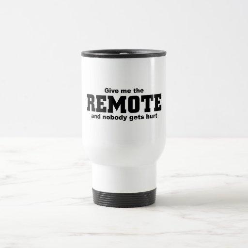 Give me the Remote Travel Mug