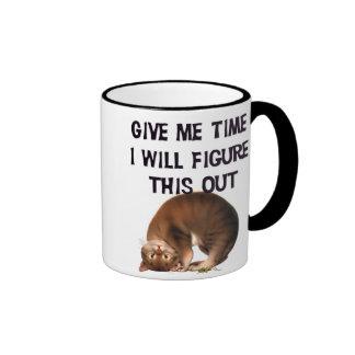 Give Me Time - Upside Down Kitty Mug