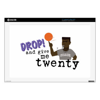 """Give Me Twenty! Decals For 17"""" Laptops"""