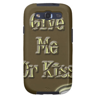 Give Me Ur Kiss Nice Design Galaxy S3 Covers