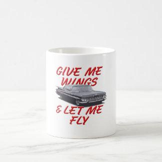 Give Me Wings Classic White Coffee Mug