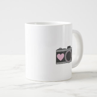 Give me your babies Heart Camera Jumbo Mug