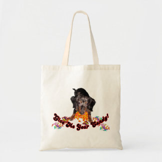 Give Me Your Candy Dachshund with Candy Tote Bag
